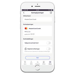 Hvordan tilføjer jeg et kort? - MobilePay.dk